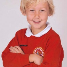 Hello, I'm Archie James Whitear and I will be 7 this year. I go to East Meon School. I'm in Oak class. My teacher is Mrs Nineham. I like Maths, Art and Craft and playing football at playtime. I hope you enjoy reading some things about my family.
