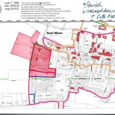 B7  Village Map accompanying Application Sept 2001