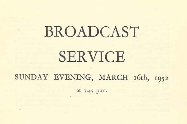 Broadcast service cover