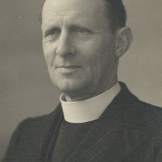 This photograph, and the next, were submitted by Jean Berry and appear to be of Rev Saunders.