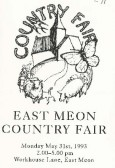 Country Fair Programmes