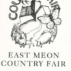 The first Country Fair, programme designed by Tricia Blakstad