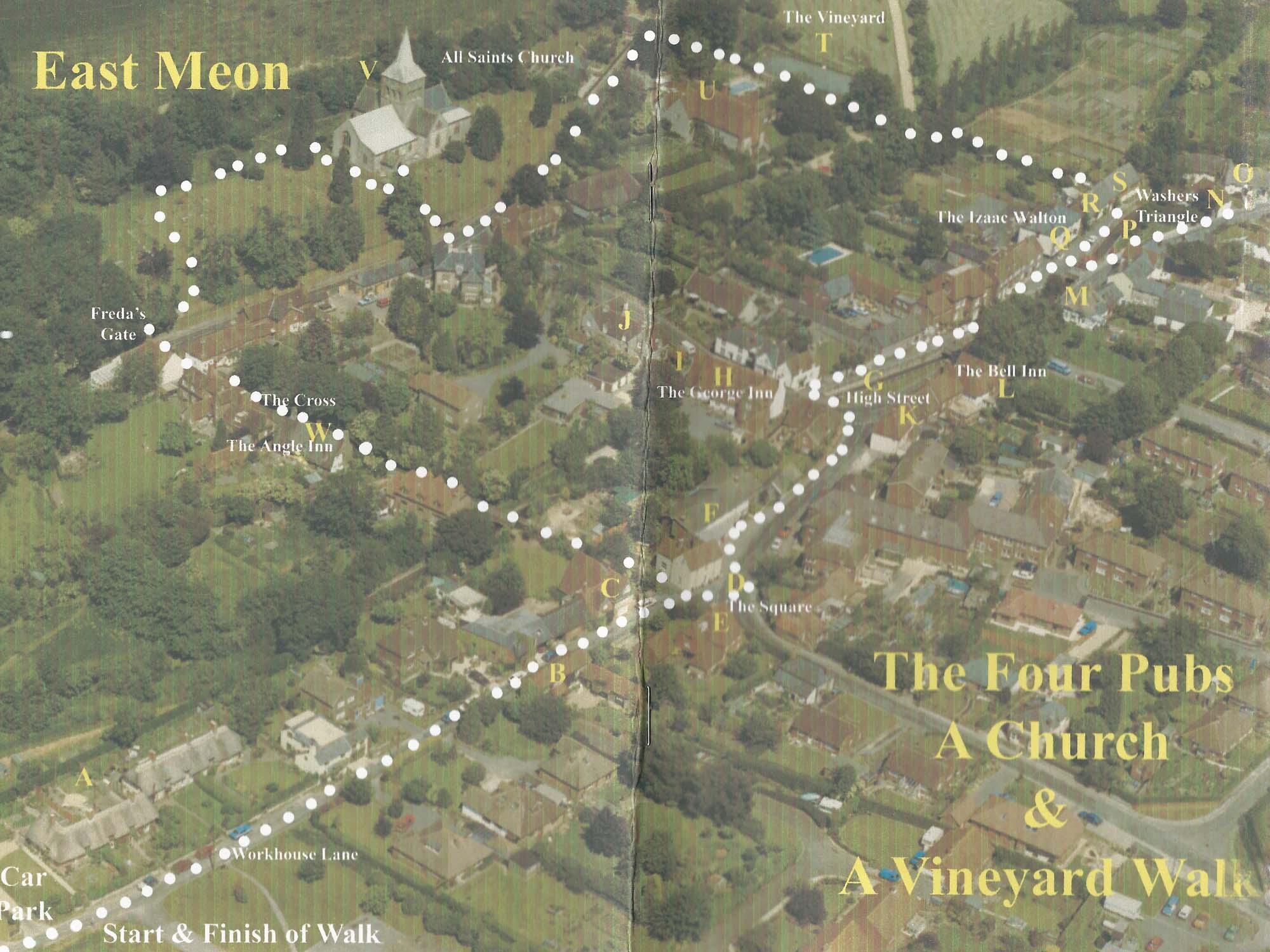 Four pubs, a church and a vineyard. 2005