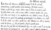 'Mene' in Domesday Book