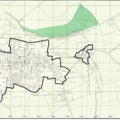 Plan accompanying East Hants District Local Plan second review