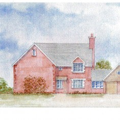 Proposed buildings at Coppice Corner.