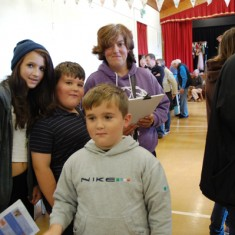 Children were invited to complete a quiz with questions based on the Historic Houses display.