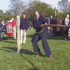 Michael Atkinson  pulls in tug of war against ...