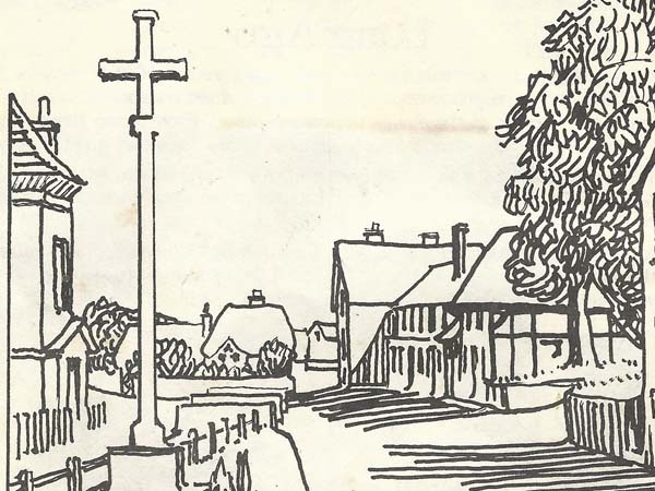 From the cover of the Then and Now programme.