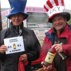 Whiskey raffle, Joe Selby and Dominic Carney, 2007