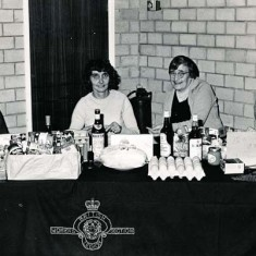 British Legion, on right, Ivy Cook and Thelma Hoare.