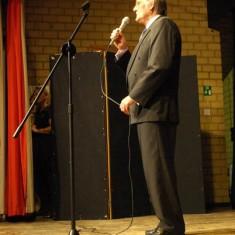 Dennis Colbourne, stand-up comedian.