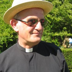 Terry Louden at Church Fete, 2005.