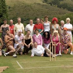 Charity matches were played in the early years of the 21st century.