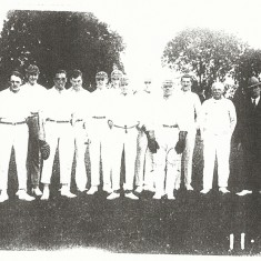 Cricket team August 1926
