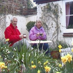 Janet and John Davies. Janet died in June 2011.