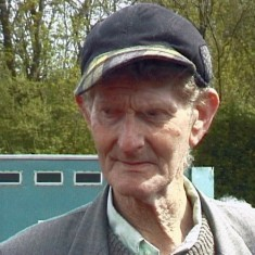 Leslie Herbert Phillips, known as Ginger, who was married to Mrs Phillips the post lady for the western end of the village.  They had 4 girls.  He worked for MIchael Atkinson for most of his life. He died in 2011.