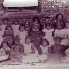 Schoolgirls, c 1900