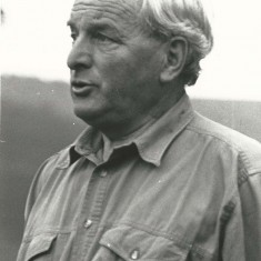 Wilson Atkinson, farmer at Lower Farm and chairman of Parish Council.