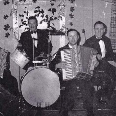 Late 1950s. William Blackman, Frank Munday, Cecil Cross, Fred Handford