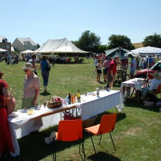 The fete was held on the Village Green in 2006