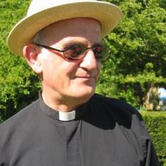 Reverend Terry Louden, vicar.