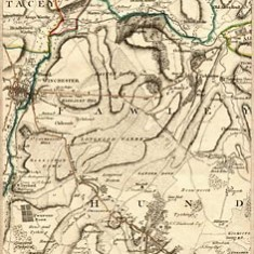 Thomas Milne map 1791