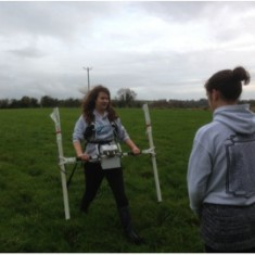 Magnetometry survey of Shavards Farm site