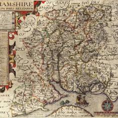John Norden map, 1605
