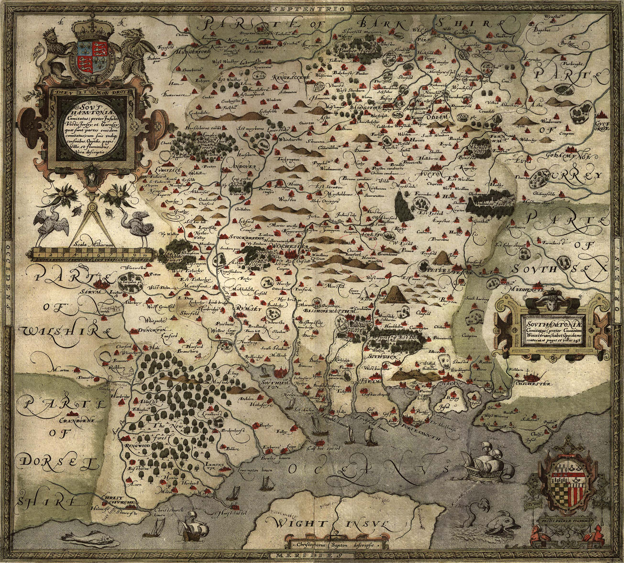 Old Maps Maps East Meon - Vintage maps uk