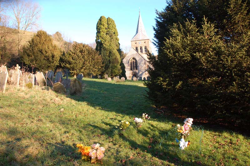 The Sexton's Charity helps finance the maintenance of the churchyard.