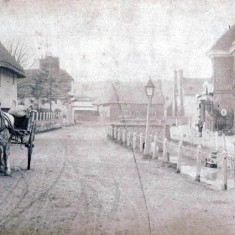High Street with horse-drawn cart