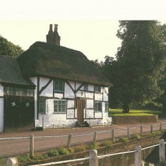 White Cottage, High Street and River