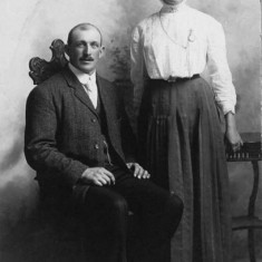 Albert and Minnie Budd