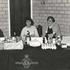 British Legion raffle, L to R Miriam Kille, Joyce Ralls, Ivy Cook, Thelma Hoare