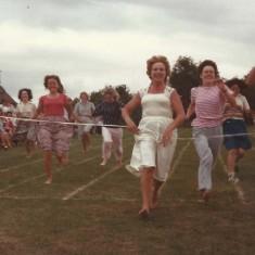 East Meon School Sports Day, Mothers race
