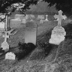 The family graves before 1939 when Sophia was interred with William and Rose.