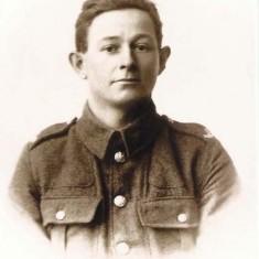 Edward Bone's Army Photo, before he came to Leydene.