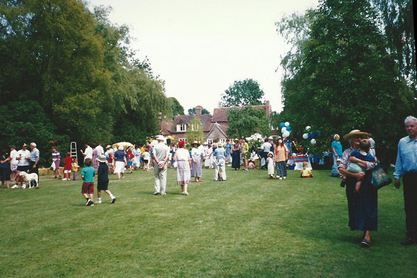 The Church Fete on the lawn of Cross Keys