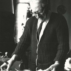 George Kille, photographed for A History of East Meon