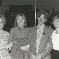 Ginger Phillips with daughters, Wendy, Jane and Susan
