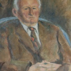 Portrait of Herbie Goddard by Geoff Brook