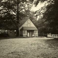 The Lodge at Leydene, where Edward Bone came to live.