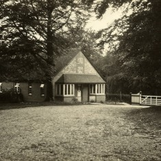 Hambledon Lodge, Leydene, where the Bones lived until 1944