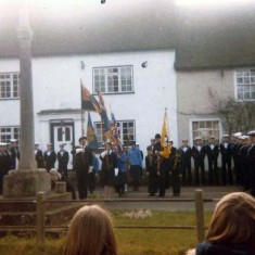 Memorial service from Goddard collection