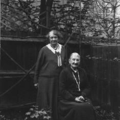 Sophia Budd & Emily Newbold (nee Budd)