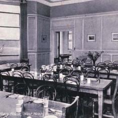 Westbury House School dining hall