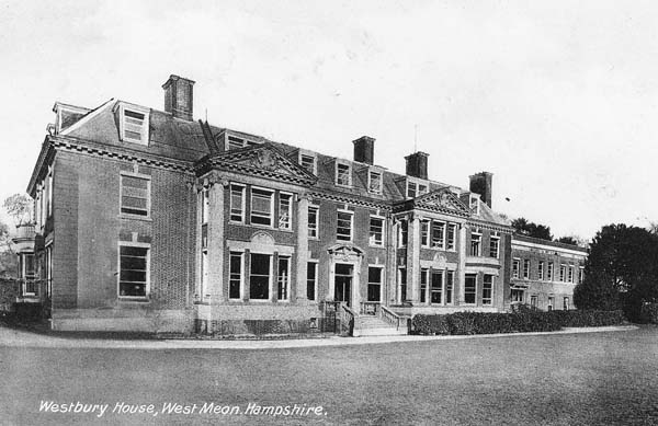Westbury House School, viewed from the south.