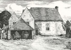 Bryden etchings of East Meon 1905