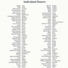 Individual Donors